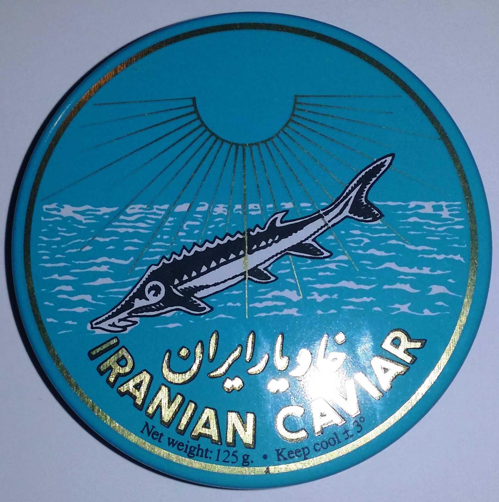 Caviar Iraní Beluga 000 30gr. en lata