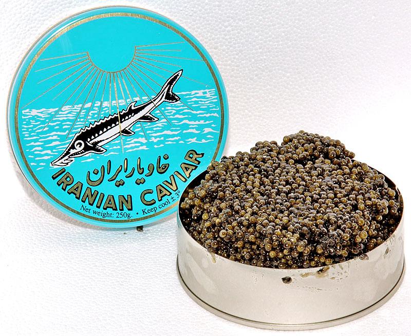 Caviar Iraní Beluga 000 125 grs. en lata