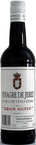 Vinagre de Jerez Gran Gusto 75 cl.