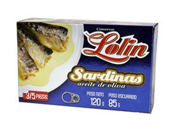 Sardinilla en aceite de oliva